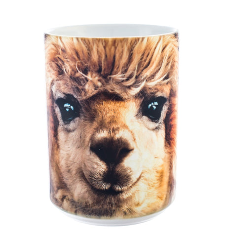 Alpaca Coffee Mug | Big Face Alpaca