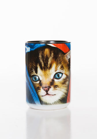 Kitten Coffee Mug | Patriotic Kitten