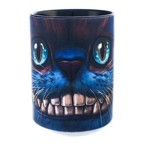 Cat Coffee Mug | Big Face Cheshire Cat