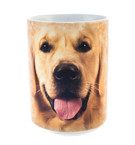 Dog Coffee Mug | Big Face Golden