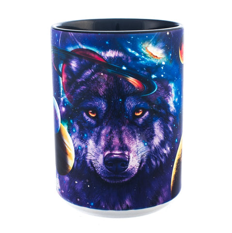 Wolf Coffee Mug | Wolves of the Cosmos