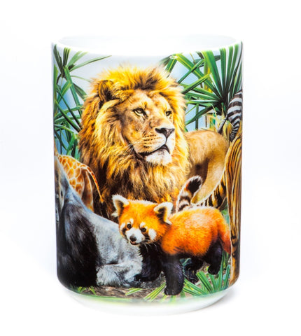 Mountain Coffee Mug | Zoo Collage