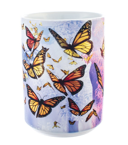 Butterfly Coffee Mug | Monarch Butterflies