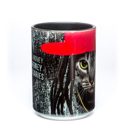 Cat Coffee Mug | Cat Money Billionaires-Gifts from DePanda
