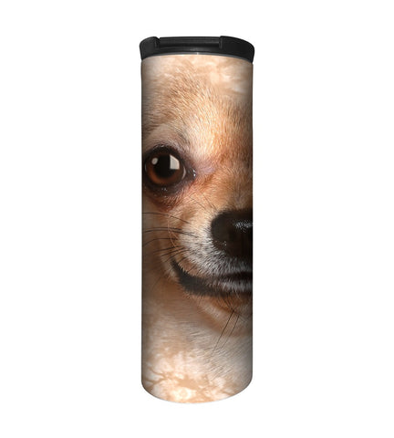 Dog Travel Mug | Chihuahua Face-Gifts from DePanda