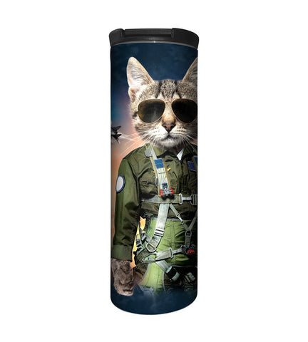 Cat Travel Mug | Tom Cat-Gifts from DePanda