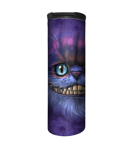 Cat Travel Mug | Big Face Cheshire Cat-Gifts from DePanda