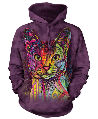 Cat Hoodie Sweatshirt Adult | Abyssinian-Gifts from DePanda