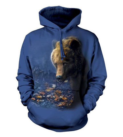 Bear Hoodie Sweatshirt Adult | Foraging-Gifts from DePanda