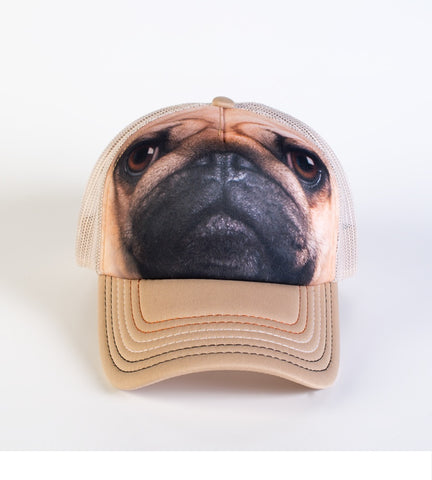 Dog Trucker Hat | Pug Face-Gifts from DePanda