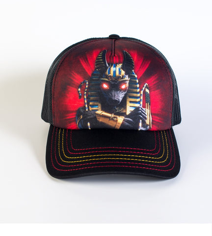 Mountain Trucker Hat | Anubis Soldier-Gifts from DePanda