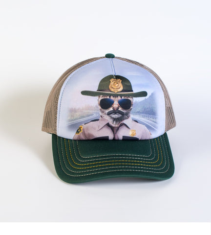 Kitten Trucker Hat | Kitten Trooper-Gifts from DePanda
