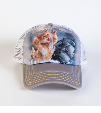 Kitten Trucker Hat | Krakitten-Gifts from DePanda