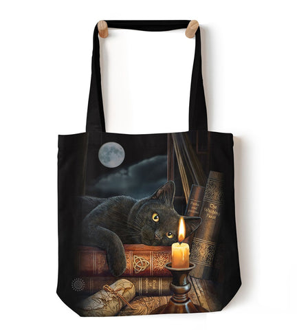 Cat Tote Bag | The Witching Hour-Gifts from DePanda