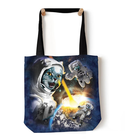 Cat Tote Bag | Cataclysm-Gifts from DePanda