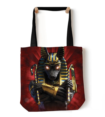 Mountain Tote Bag | Anubis Soldier-Gifts from DePanda