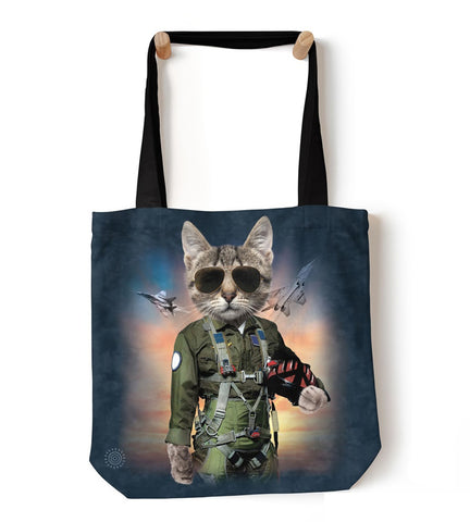 Cat Tote Bag | Tom Cat-Gifts from DePanda