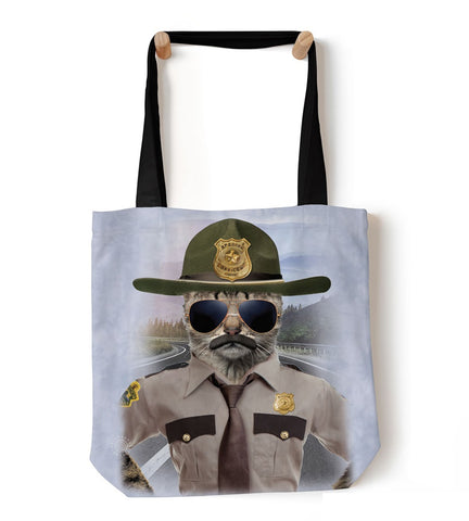 Kitten Tote Bag | Kitten Trooper-Gifts from DePanda