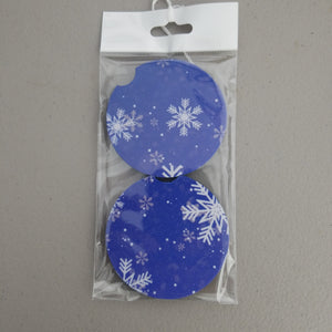 Snowflake Car Coasters