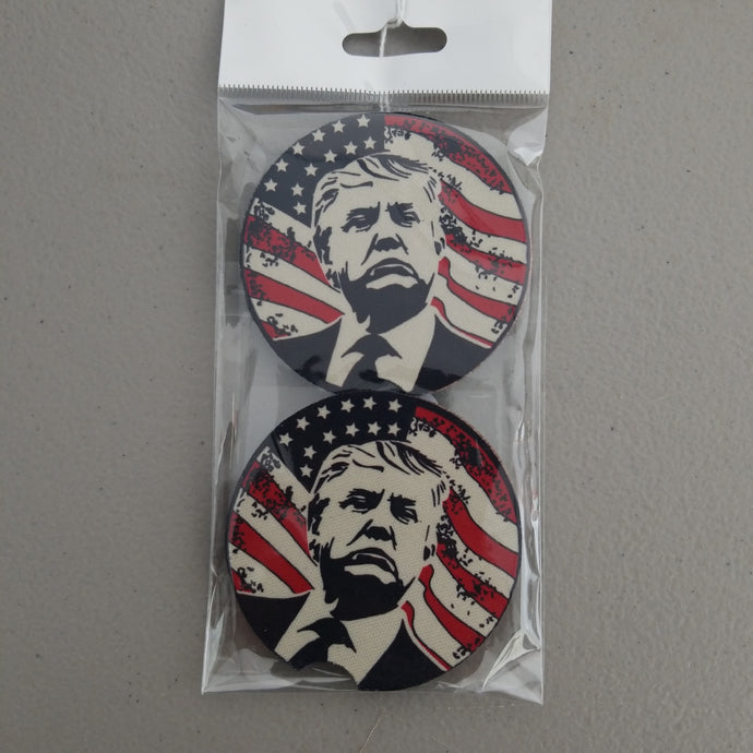 President Trump Car Coasters