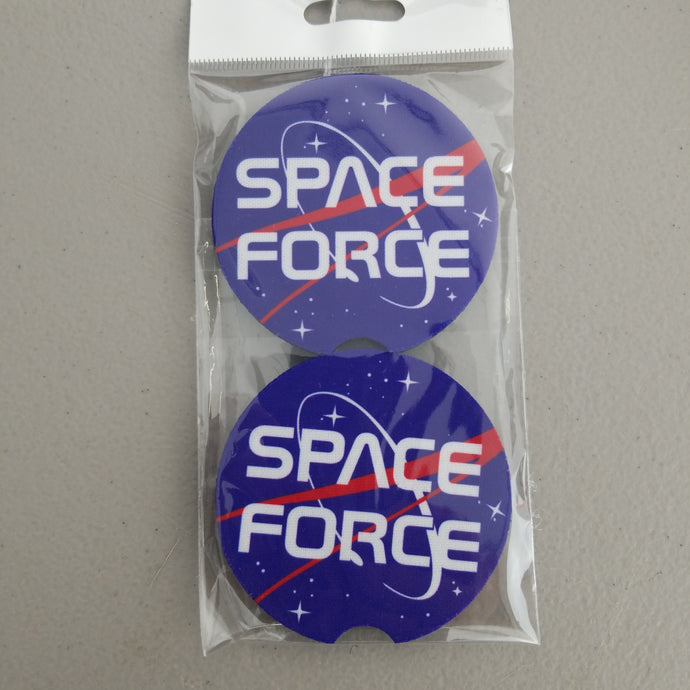 Space Force Car Coasters