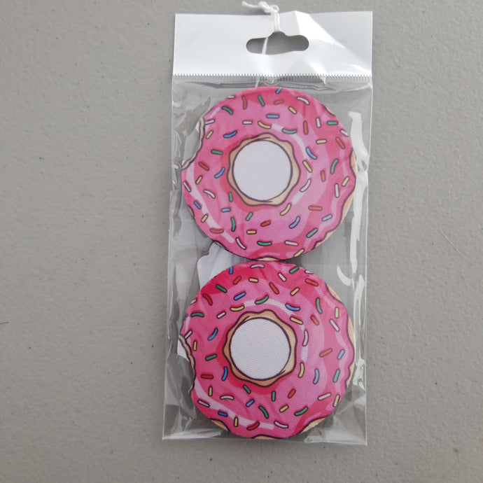 Donut Car Coasters