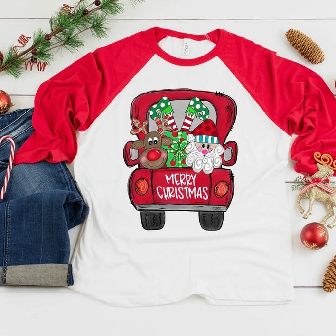 Merry Christmas Truck Shirt