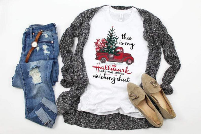 Hallmark Movie Watching Shirt