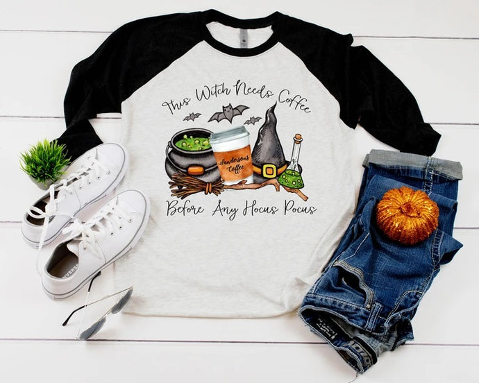 Coffee Before Hocus Pocus Shirt