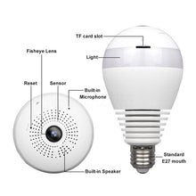 Load image into Gallery viewer, 02118 Gunn CCTV Light Bulb IP22 Secure Impressive Celebration Genesis1.