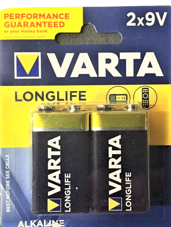 02140 9V Batteries 2 Pack Outback.