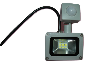 03106 Gunn 10W 240V AC Flood Light with Sensor And Plug Celebration Efficient Diamonds.