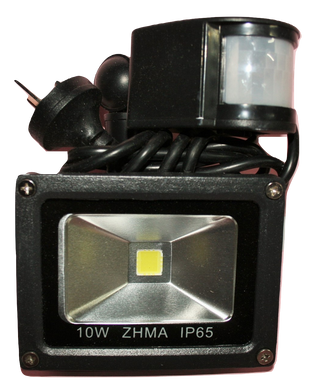 03111 Gunn 10W 240V AC Flood Light With Sensor Efficient.