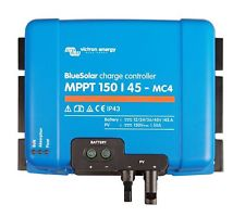 04116 Gunn Victron MPPT Blue Tooth Smart charge Controller 150/45 MC4 Energy.