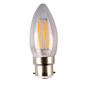 04129 Gunn Sal 4W 27K LCA27B22DC Candle Replacement bulb Style.