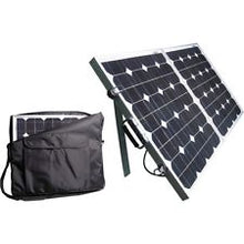 Load image into Gallery viewer, 10104 Gunn 160W 12V Portable Fold Away Solar Panel With Stand Outback Energy sale.