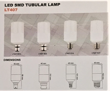 Load image into Gallery viewer, 06138 Gunn Sal 7W 4K LT40740E27 Tubular SMD Replacement Bulb Lamp Style.