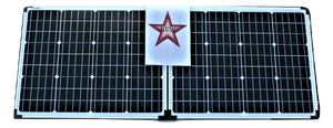 10104 Gunn 160W 12V Portable Fold Away Solar Panel With Stand Outback Energy sale.