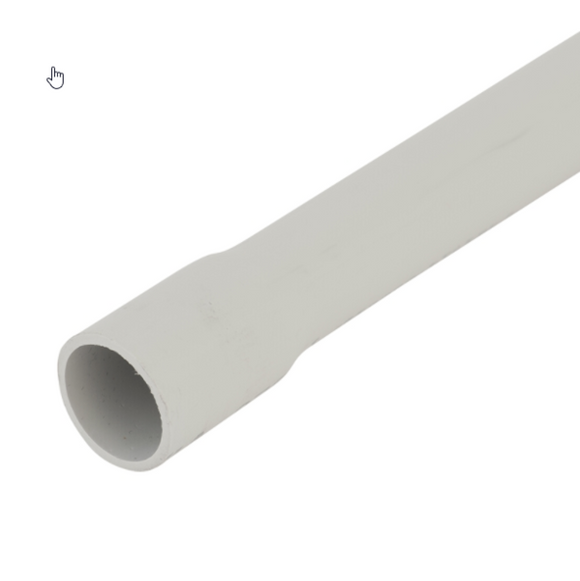 10107 Gunn 20mm MD Conduit Grey Sold in 4Mt Lengths Duty.