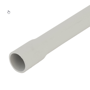 10108 Gunn 25mm MD Conduit Grey Sold In 4Mt Lengths Duty.