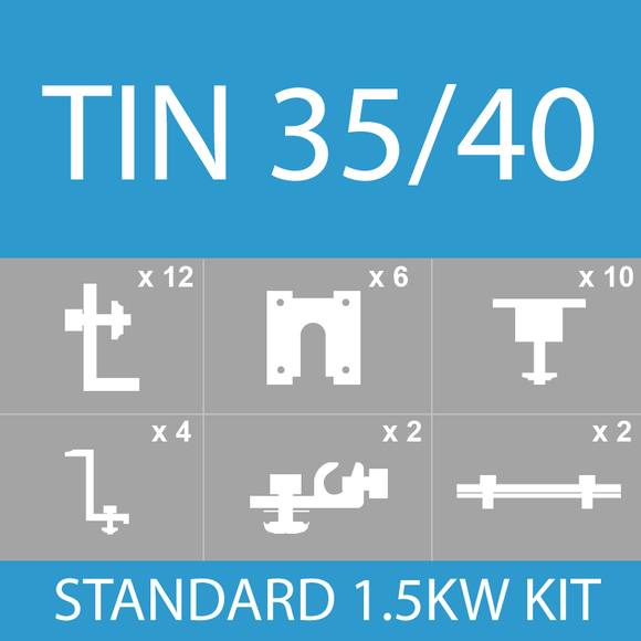 10115 Gunn Titan Solar 6 Panels Tin Kit 35/40mm – No Rails TT-Tin-6P-35/40 Photoshine.