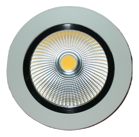 1104 Gunn Led 15W 3K 137 Dia O/A Down Light White Sale.