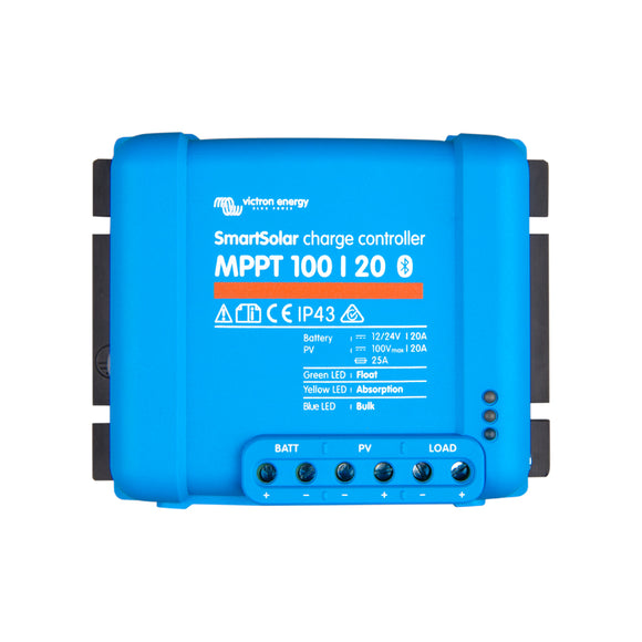 15113 Gunn Victron MPPT Blue Tooth Smart Charge controller 100/20 Energy.