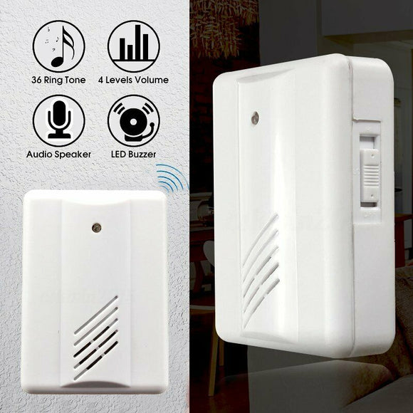 15119 Gunn Door Alarm Wireless Infrared Pir Motion Sensor Exquisite.