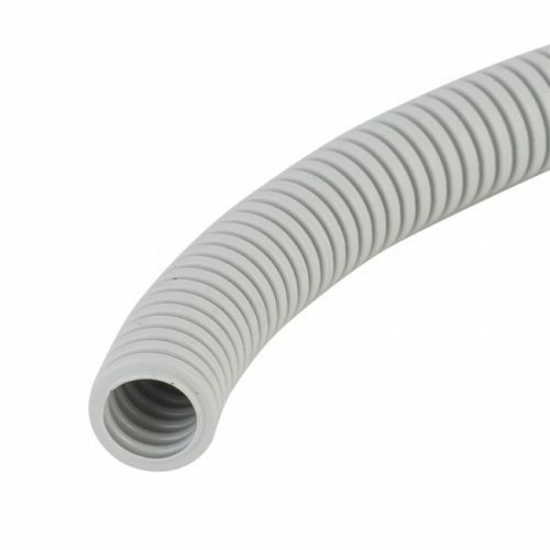 17105 Gunn Corrugated Conduit Flexible Grey 20mm 10Mt Roll Duty.