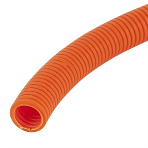 17112 Gunn Corrugated Conduit flexible Org 20mm 50Mt Roll Duty