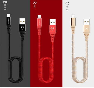 18105 Gunn  Mcdodo Black USB Data Charging Cable Secure.