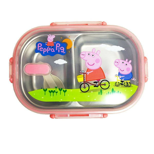 18123 Merge Stylish Pepper Pig Food lunch box Celebration.