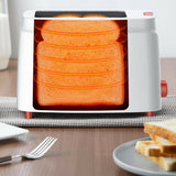 18138 Merge Deerma Appliance 2 Slice Electric Toaster Automatic Timer Celebration