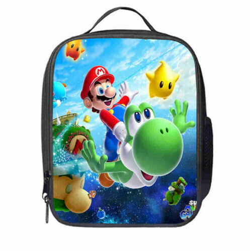18145 Merge Super Mario Roblox Flame Insulated Food Lunch Bag Celebration